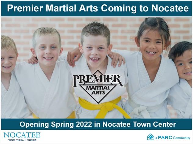 Premier Martial Arts Coming Soon to Nocatee