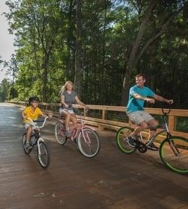 Biking the Nocatee Greenway Trails