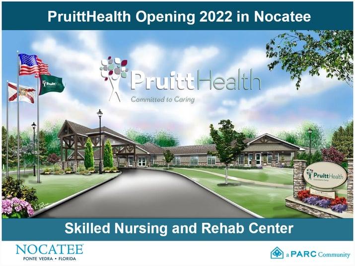 PruittHealth Opening in Nocatee