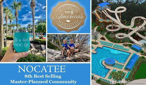 Nocatee Ranked 8th Best Selling Community