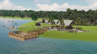 Settlers Pond Dock