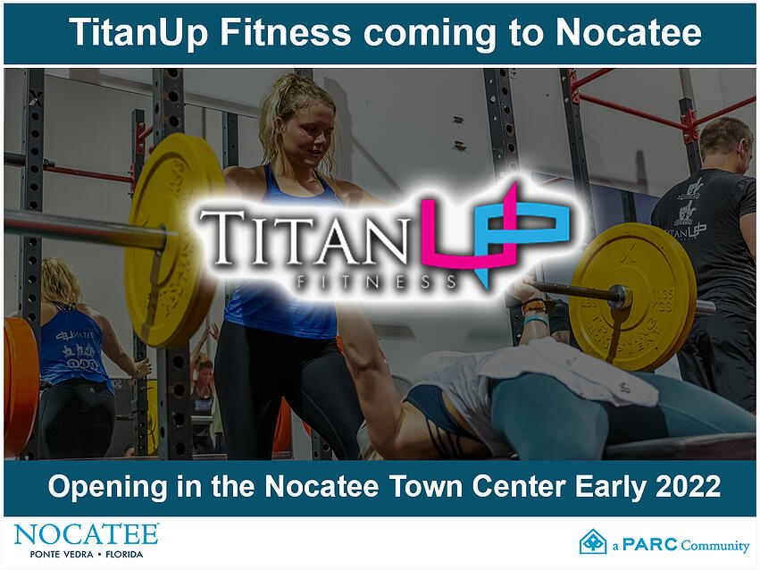 TitanUp Fitness Coming to Nocatee