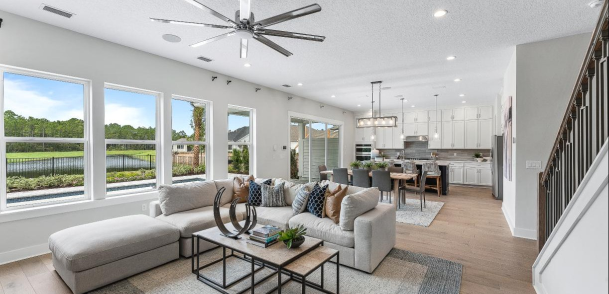 Living Space by Toll Brothers in Settler's Landing at Nocatee