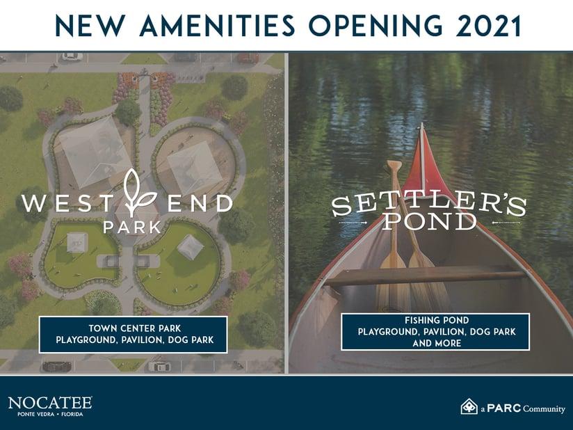 New Nocatee Amenities 2021