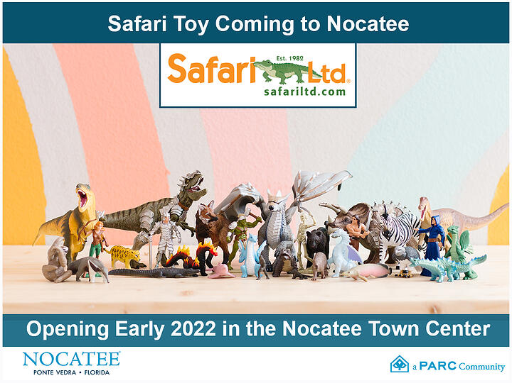 Safari Ltd Coming to Nocatee