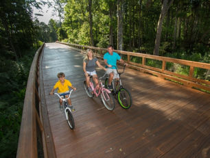 Biking Nocatee Greenway Trails-1-1