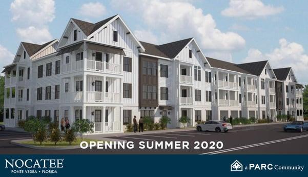 Olea at Nocatee Opening Summer 2020