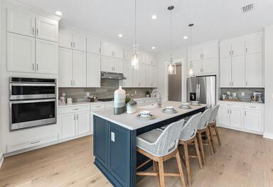 Gourmet Kitchen by Toll Brothers in Settler's Landing at Nocatee