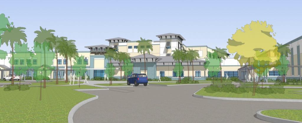 New K-8 Nocatee School Rendering